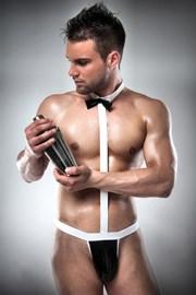 Pánské erotické body Waiter