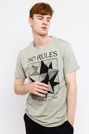 Pánské tričko MF No Rules Beige