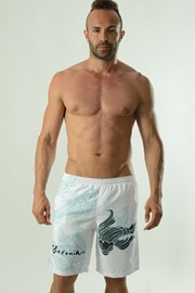 Pánské koupací šortky GERONIMO Cyprinus bílé