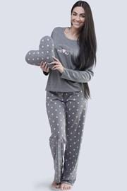 Dámské pyžamo Meow šedé