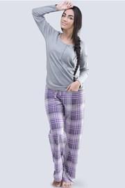 Dámské pyžamo Anabell šedé
