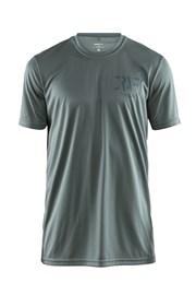 Pánské tričko CRAFT Eaze Graphic zelené