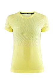 Dámské tričko CRAFT Cool Comfort SS žluté
