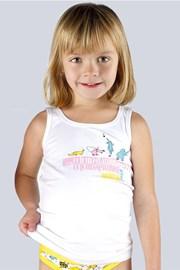 Dívčí spodní košilka bavlněná