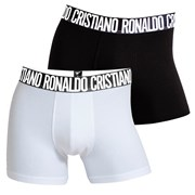 2 pack pánských boxerek CR7 CRISTIANO RONALDO Black White