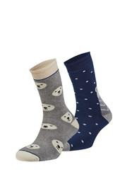 2 pack hřejivých ponožek Rubí
