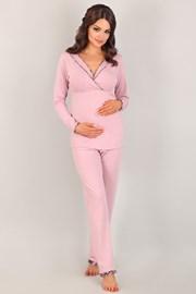 Mateřské,kojicí pyžamo Coraline Pink