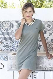 602a407e51f4 Dámské letní šaty Corfu khaki