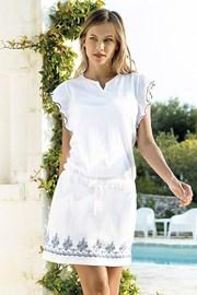 Dámské letní šaty Santorini bílé