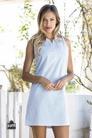 Dámské letní šaty Bernetta modré