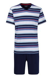 Pánské pyžamo CECEBA Red 5XL plus nežehlivé