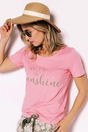 Dámské pyžamové tričko Sunshine
