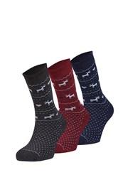 3 pack hřejivých ponožek Sabado