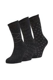 3 pack hřejivých ponožek Dino