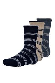 3 pack dětských hřejivých ponožek Rakr