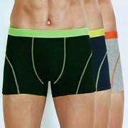 3pack pánských boxerek PRIMAL B186 Neon