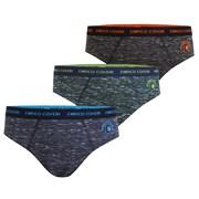 3 pack chlapeckých slipů Enrico Coveri 4057 Color