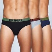 3pack pánských slipů PRIMAL S155