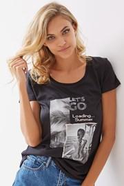 Dámské tričko Rosia černé