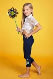Dívčí legíny Stella Glitter