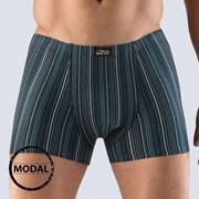 Pánské boxerky GINO Modal Stripes tmavěmodré