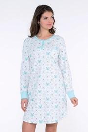 Dámská noční košile Arctic modrá
