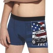 Chlapecké boxerky America modré