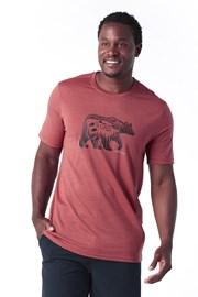Pánské tričko SMARTWOOL Merino 150 červené