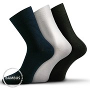 3 pack ponožek Badon Mix bambusové společenské