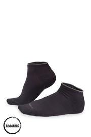 Bambusové ponožky Eloi nízké šedé