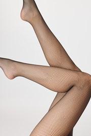Síťované punčochové kalhoty Brigitte 01