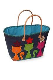 Velká plážová taška Chat