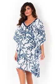 Dámské italské plážové šaty David Mare Blue Reef
