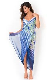 Plážový šátek,pareo z kolekce David Mare, Shibory
