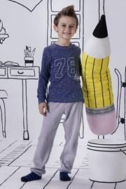 Chlapecké pyžamo Jacqard