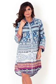 Dámské italské košilové šaty David Beachwear Gujarat