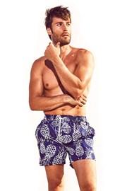 Pánské plavkové šortky DAVID52 Pineapple Caicco