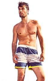 Pánské plavkové šortky DAVID 52 Ocean Stripes Caicco