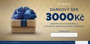 Tištěný dárkový šek 3000
