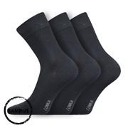 3 pack bambusových ponožek Debob tmavěšedé