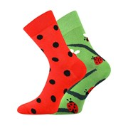 Trendy ponožky Berušky - každá ponožka jiná