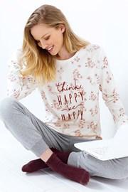 Dámské pyžamo Be Happy melange