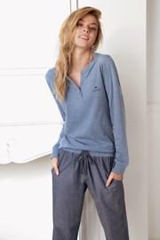 Dámské pyžamo Alice modré