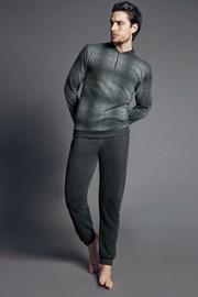 Pánský domácí komplet Corrado šedý