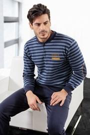 Pánské pyžamo ENRICO COVERI Athletic Blue