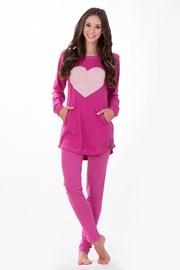 Dámské italské pyžamo Big Heart