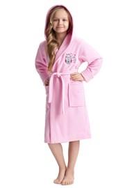 Dívčí župan Lovely Pink