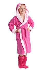 Dívčí župan Zuzana růžový