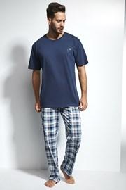Pánské pyžamo CORNETTE Great Outdoors Blue