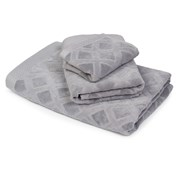 Velký ručník Charles šedý